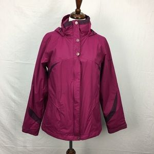 Columbia Pink/Purple Interchange Winter Jacket